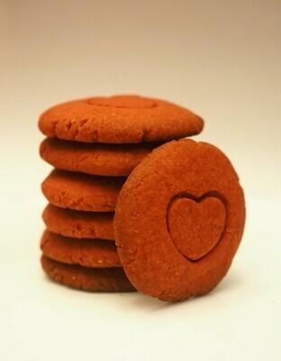 Vegan Red velvet cookies
