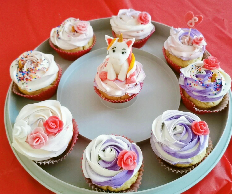 Vegan custom made cupcakes