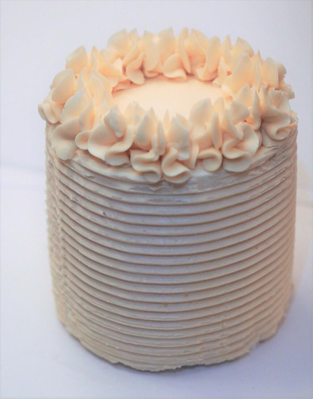 Vegan vanilla cake.