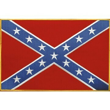 Large Rebel Flag - Confederate Flag Patch