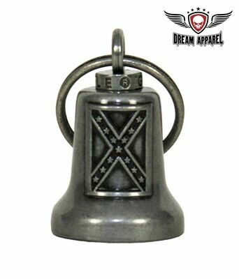 Rebel Flag - Confederate Flag - Motorcycle Ride Bell