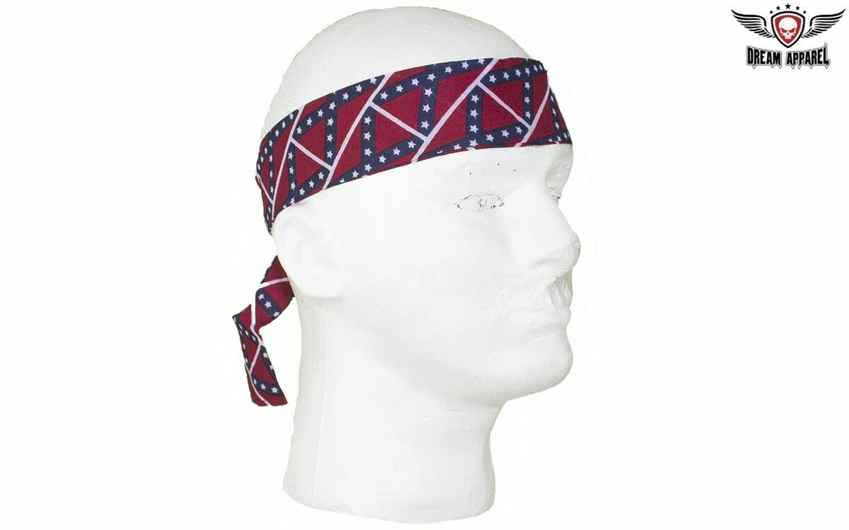 Rebel Flag Headband - You Get TWO