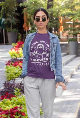 Anything a Sloth Can Tshirt