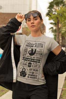 Sloth Advice Tshirt
