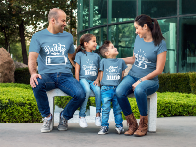 Family Battery Tshirt