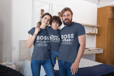 Boss Family Tshirt