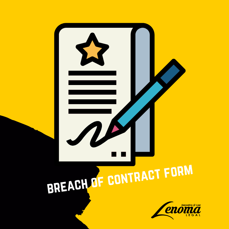 Breach of Contract Form