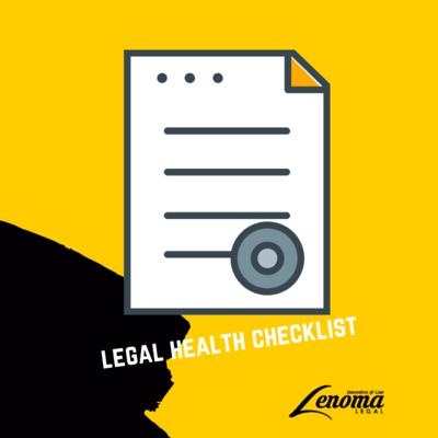 Legal Health Checklist
