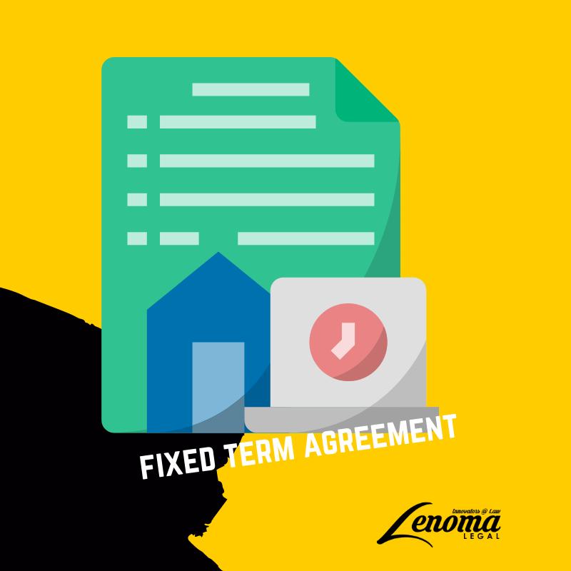 Fixed Term Employment Agreement