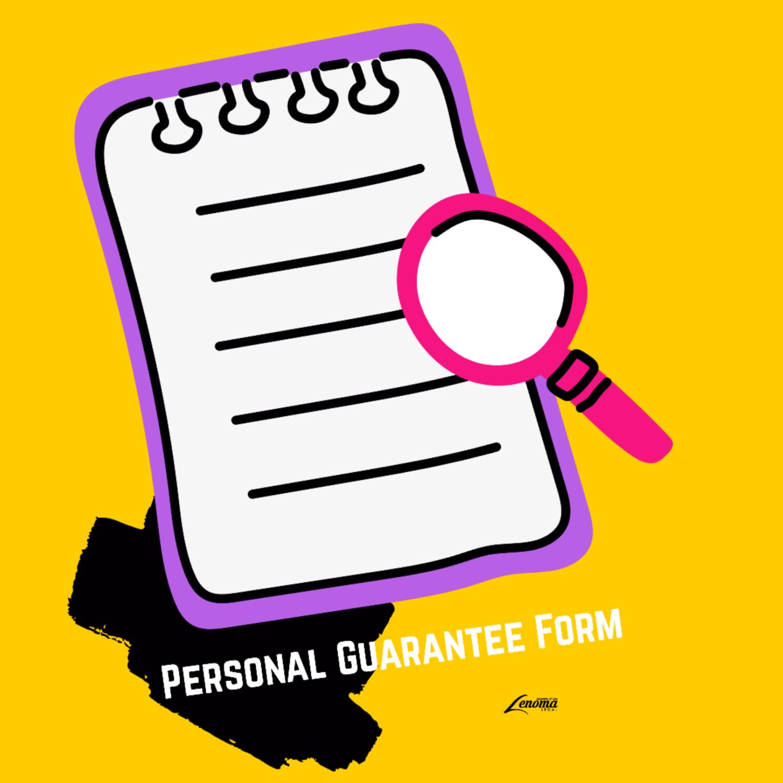 Personal Guarantee Form