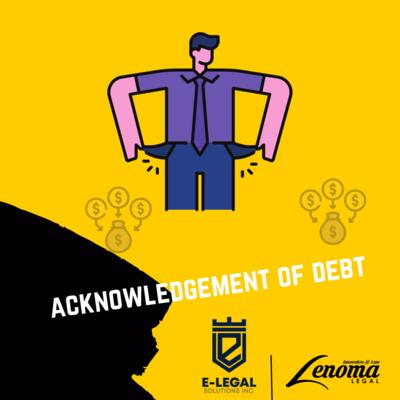 Acknowledgment of Debt - Lesotho