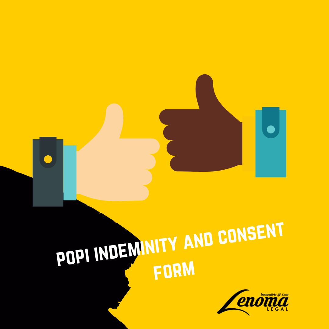 POPI Indemnity and Consent Form