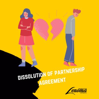 Dissolution of Partnership Agreement