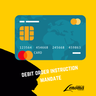 Debit Order Mandate Instruction