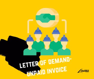 Letter of Demand-Unpaid Invoice