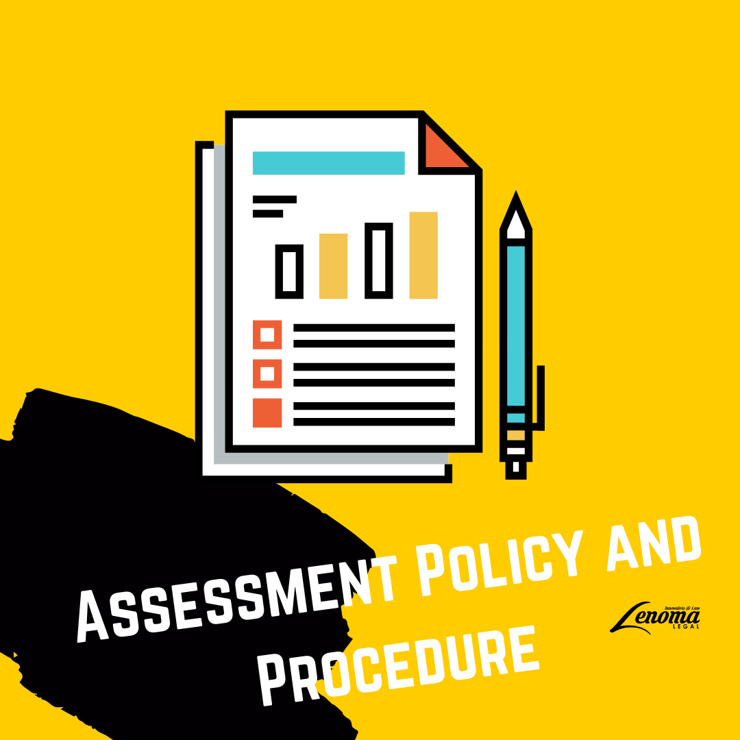 Assessment Policy and Procedure