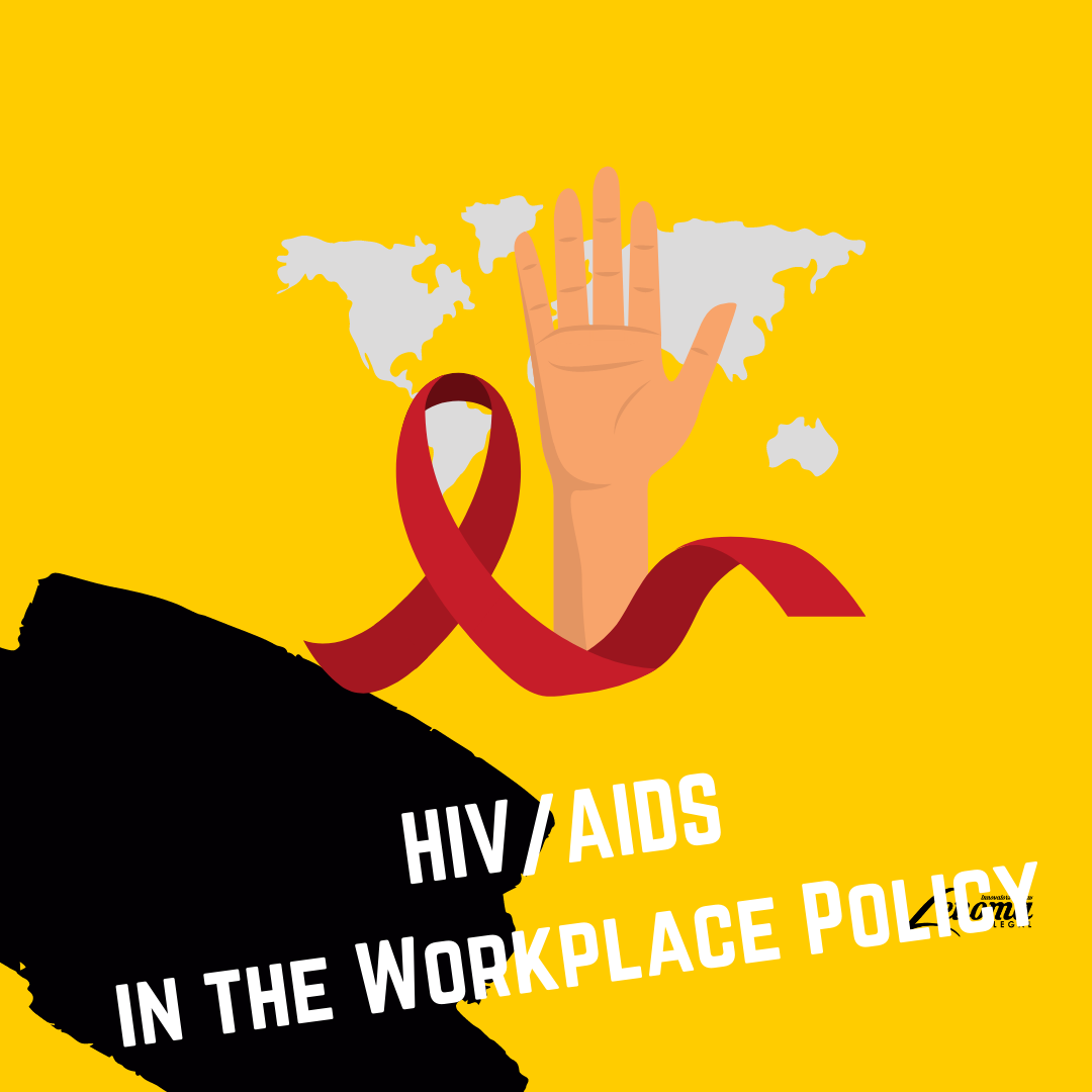HIV/AIDS in the Workplace Policy