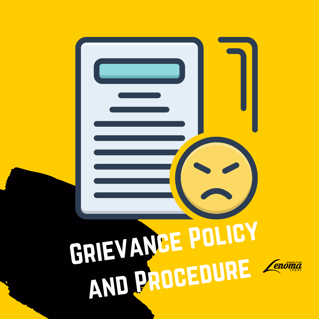 Grievance Policy and Procedure