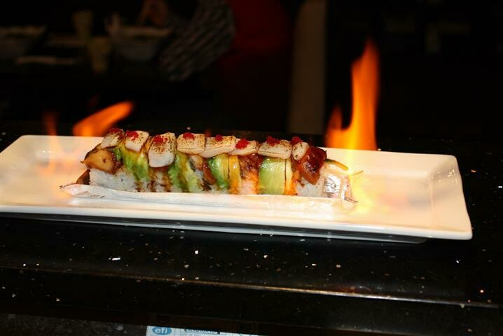 Unagi Flame Roll