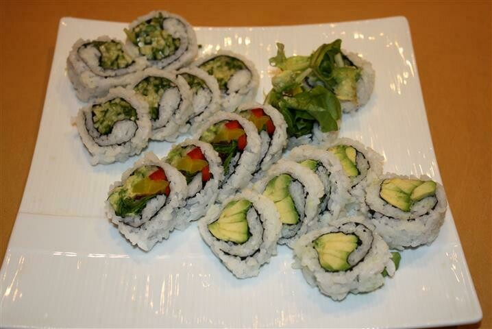 Vegetable Roll Combo