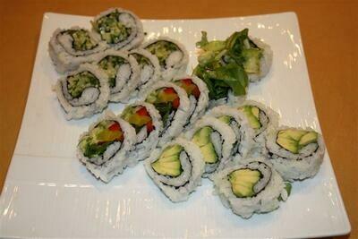 Vegetable Roll Combo