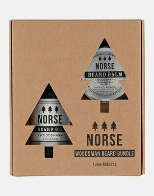 Gift Box Balsam si Ulei pentru Barba - Woodsman