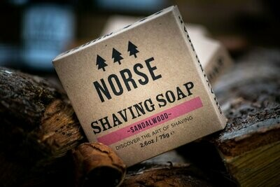 Sapun Natural pentru Barbierit - Sandalwood