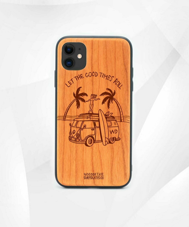 GOOD TIMES - Carcasa din Lemn pentru iPhone 11