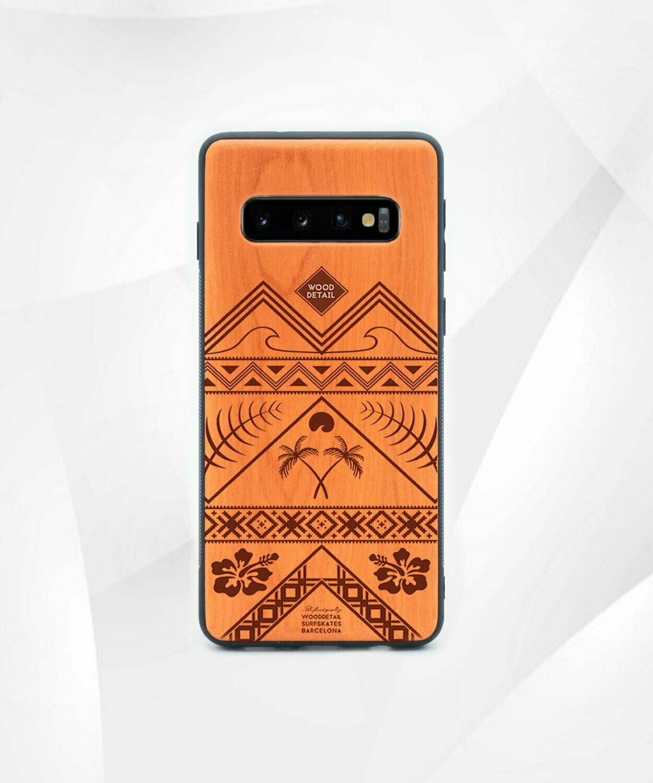 ETHNIC - Carcasa din Lemn pentru Samsung S10