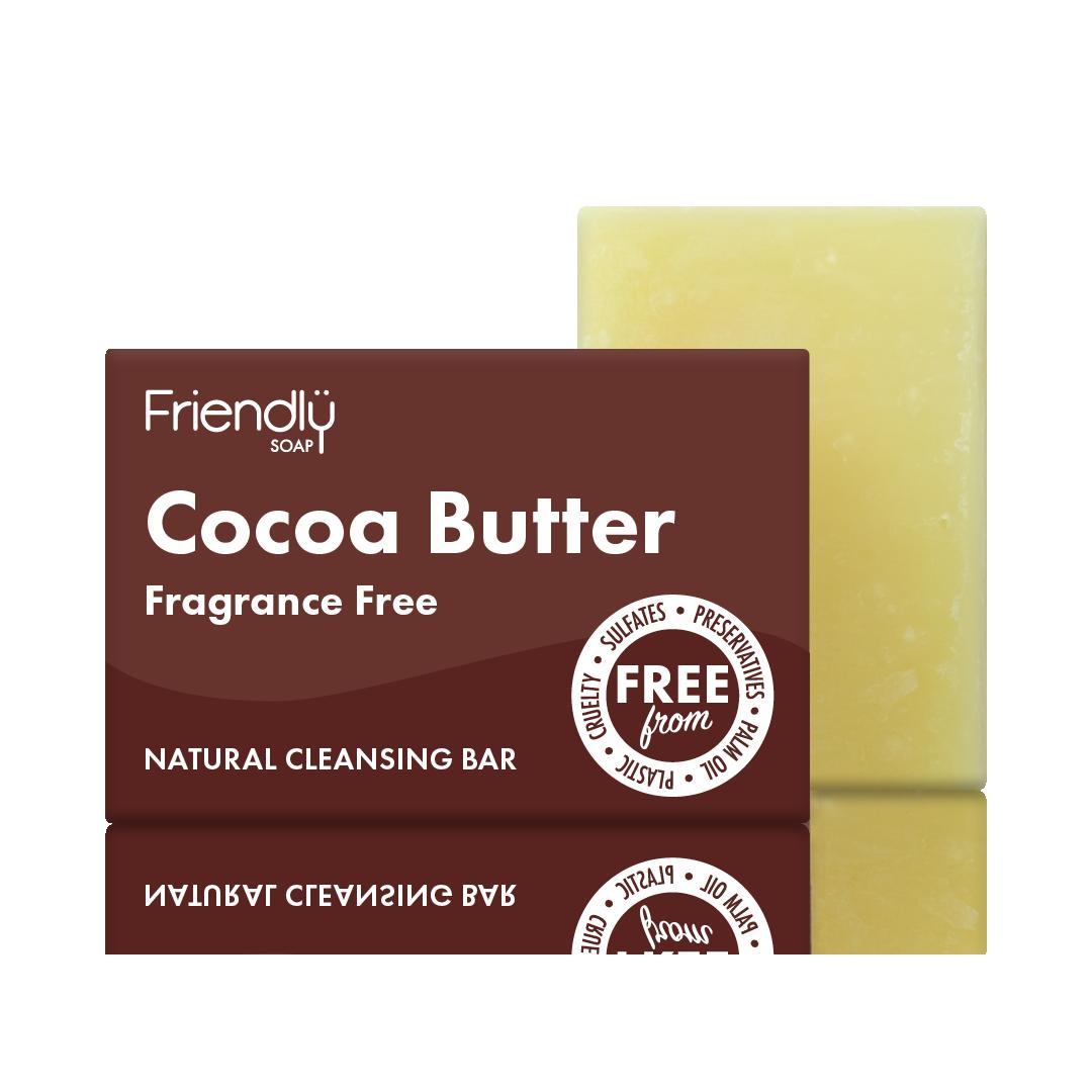 Sapun Natural pentru Curatarea Fetei cu Unt de Cacao