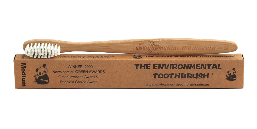 Periuta de Dinti din Bambus - Medium