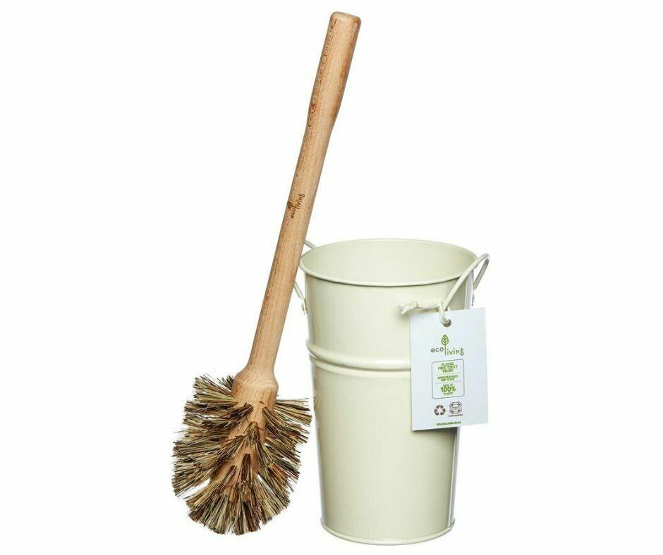 Perie de Toaleta 100% Biodegradabila + Recipient