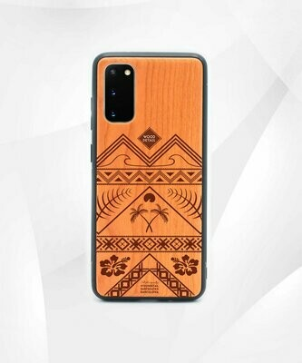 GOOD TIMES - Carcasa din Lemn pentru Samsung S20