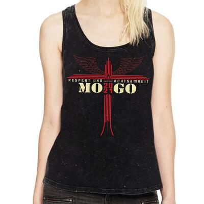 Damen MOGO-Tanktop Acid Black