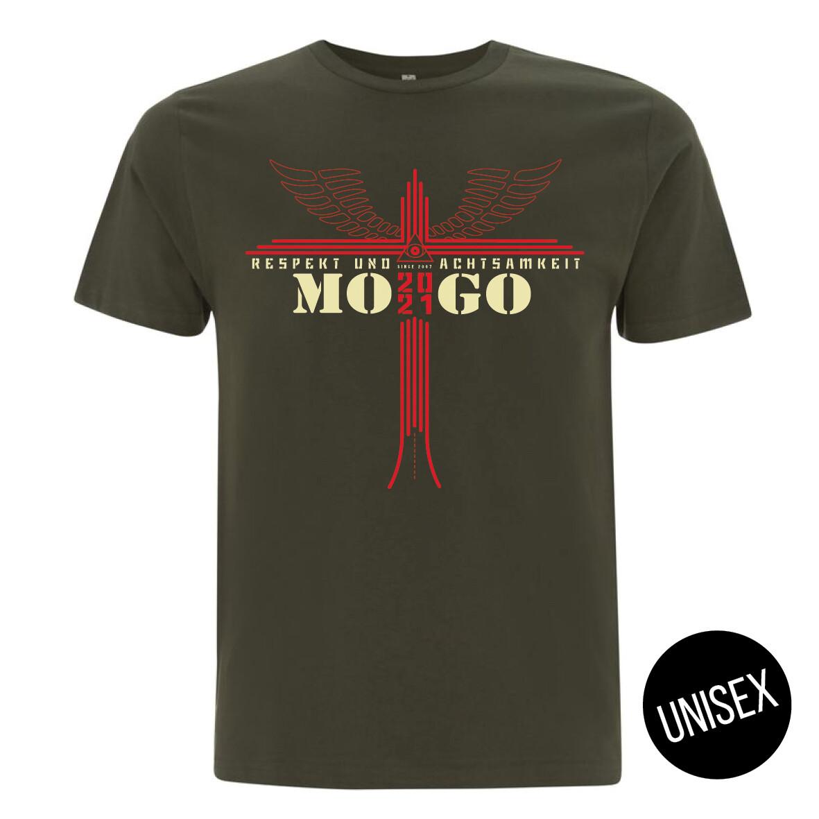 MOGO-Shirt Moss Green (unisex)