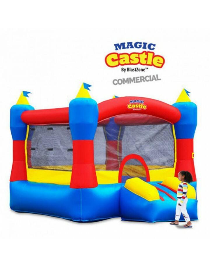 Magic Castle 10 Commercial Inflatable Moonwalk