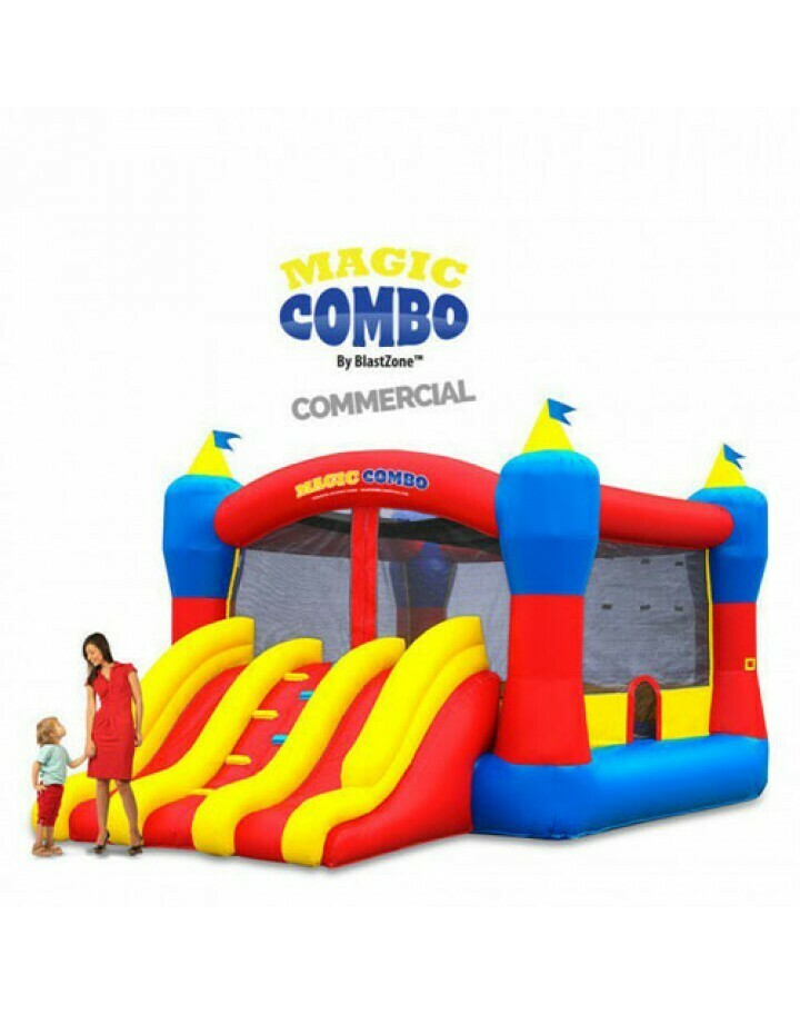 Magic Combo 15 Commercial Inflatable Bouncer W Slide