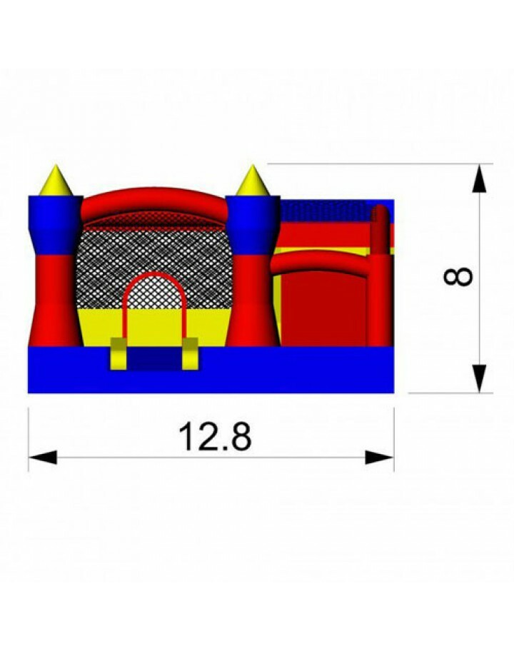 Misty Kingdom Commercial Inflatable Combo