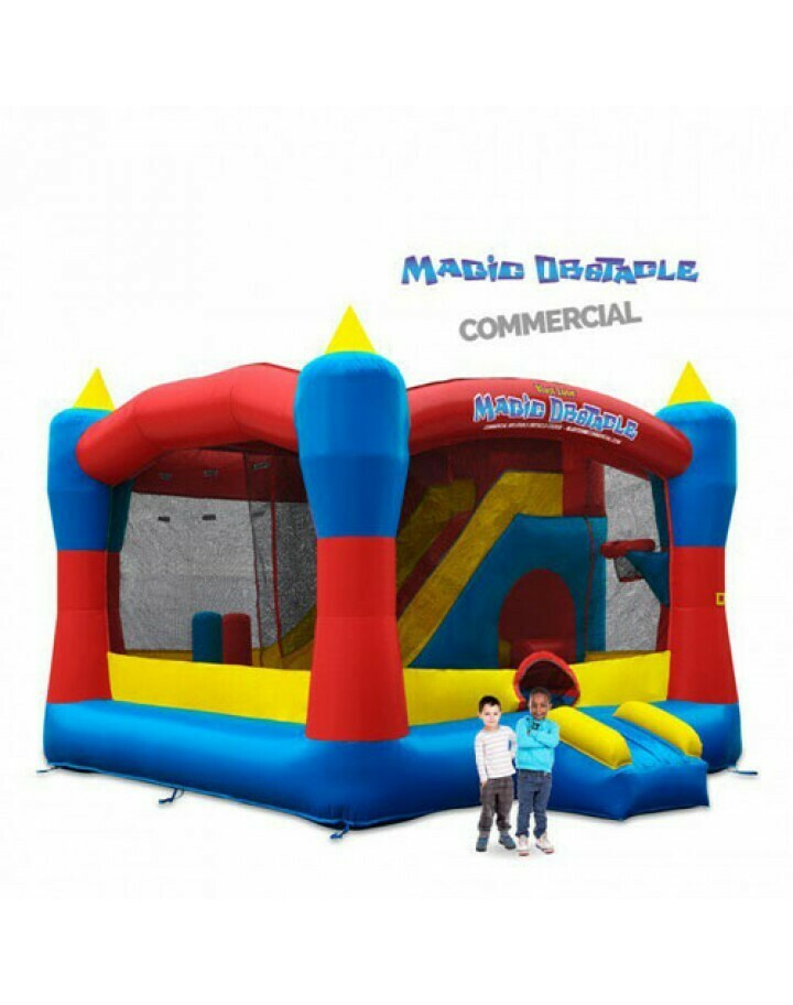 Magic Enclosed Obstacle Bouncer