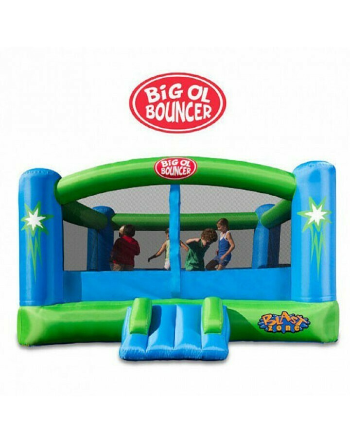 Big Ol Bouncer Inflatable Moonwalk By Blast Zone