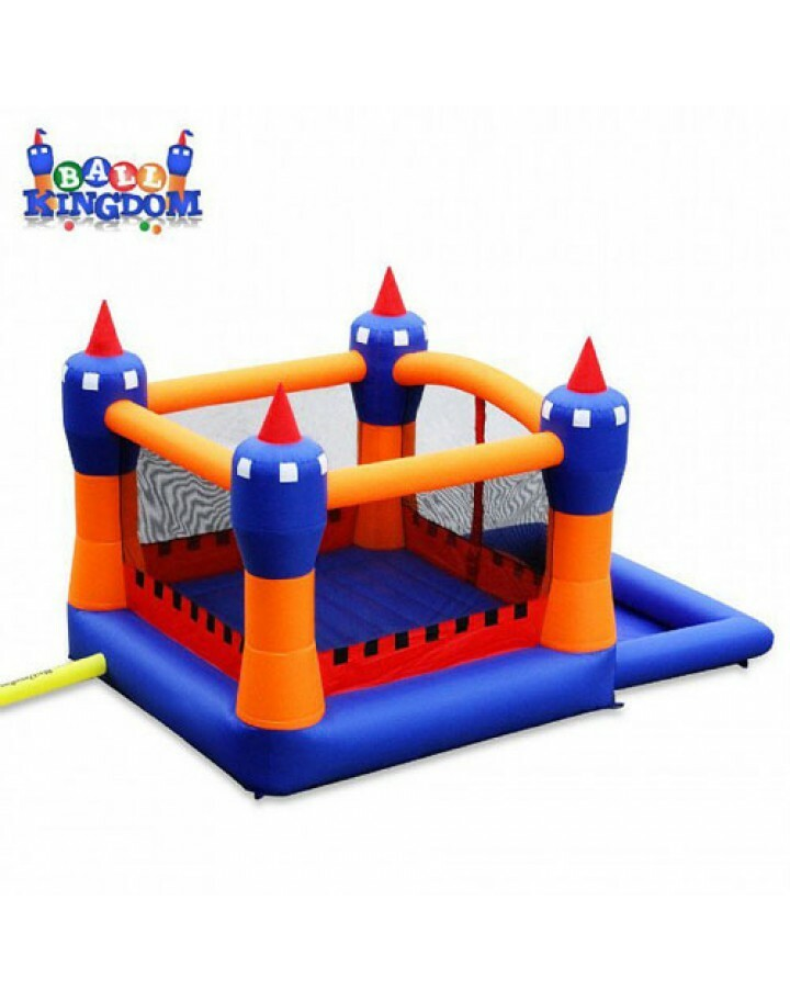 Ball Kingdom Inflatable Bounce House And Pit By Blast Zone