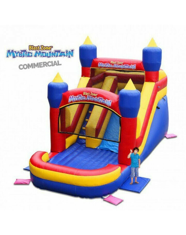 Mystic Mountain Commercial Inflatable Slide