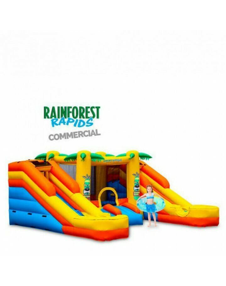 Rainforest Rapids Commercial Inflatable Combo