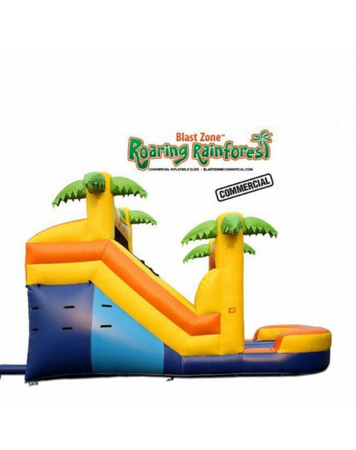 Roaring Rainforest 14 Inflatable Commercial Slide