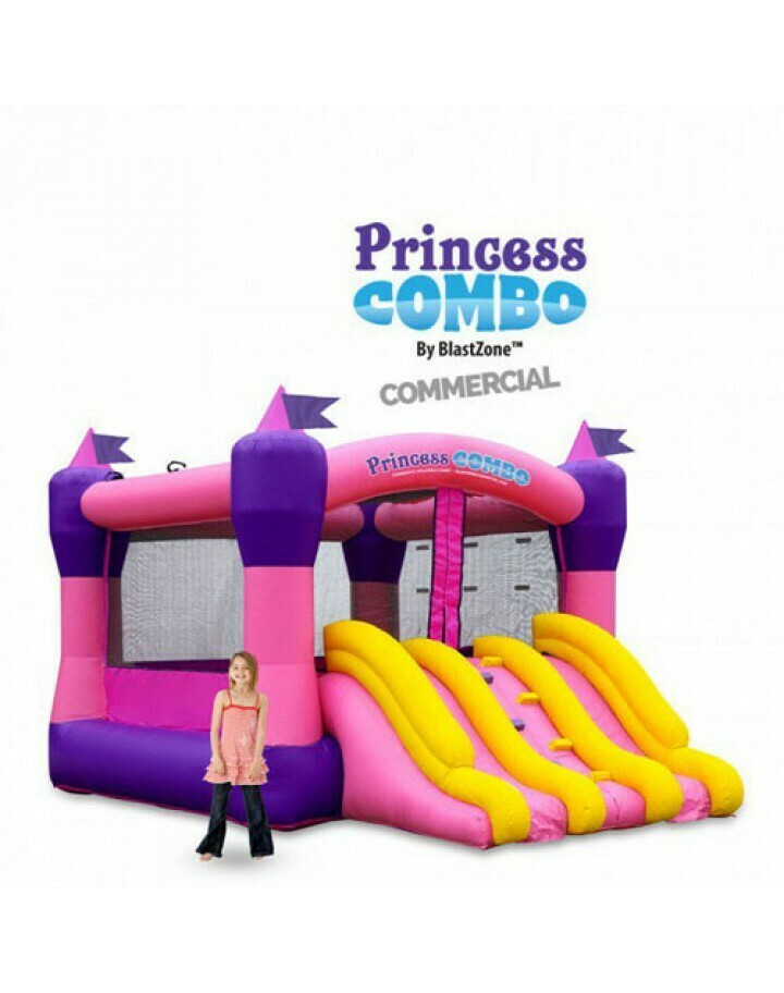 Princess Combo 10 Commercial Inflatable