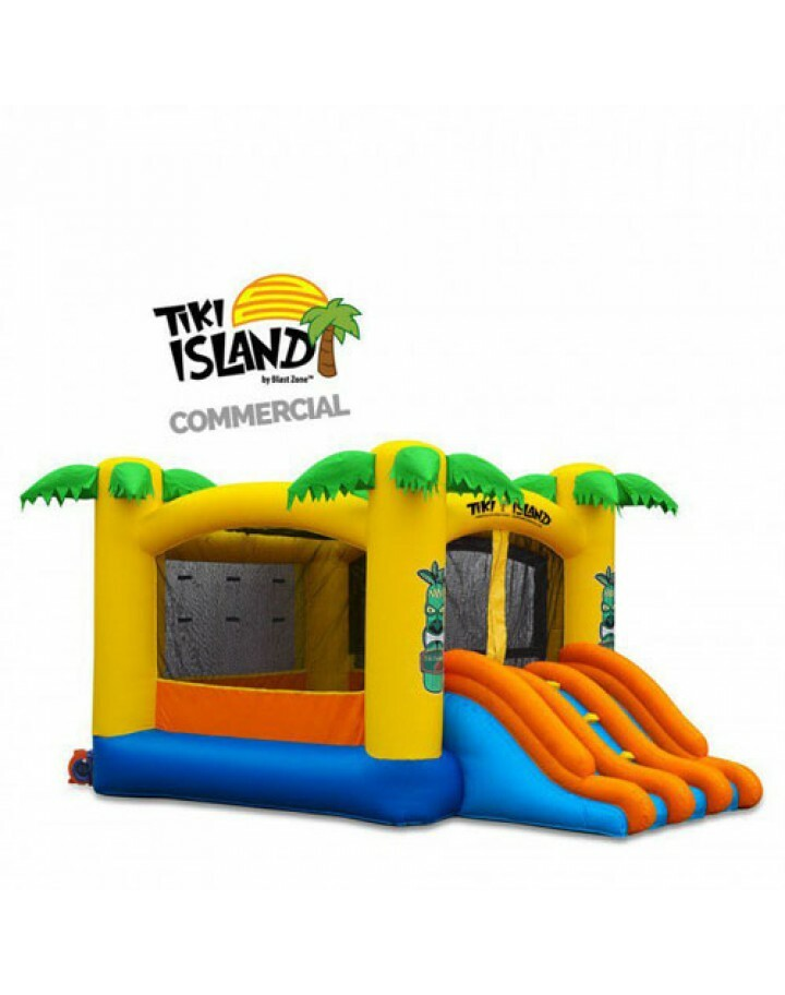Tiki Island Combo 10 Commercial Inflatable Bouncer Slide