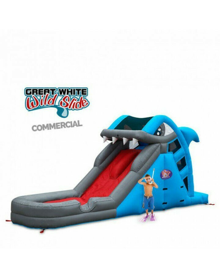 Great White Wild Slide Inflatable Commercial