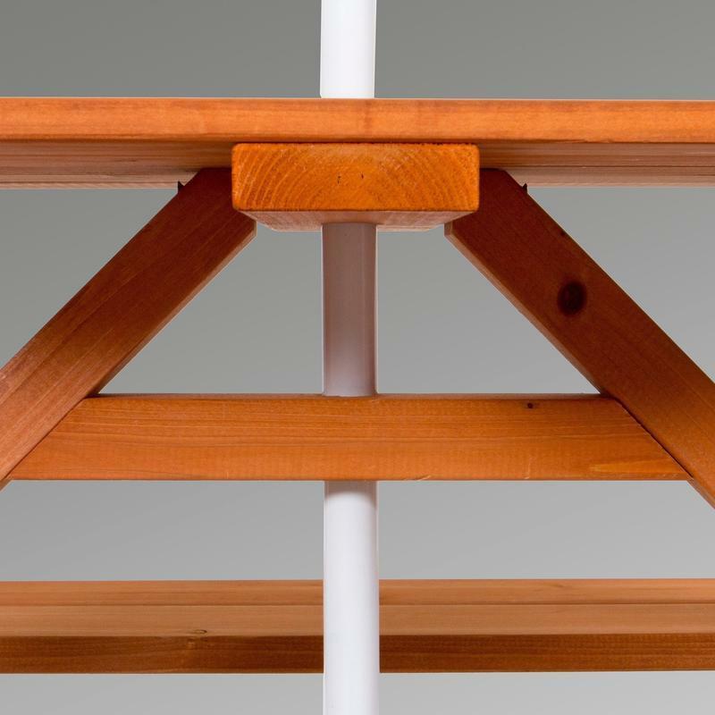 Sunny Cedar Picnic Table