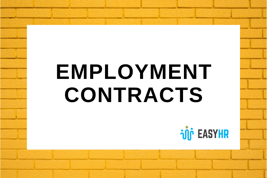 Permanent Employment Contract Template