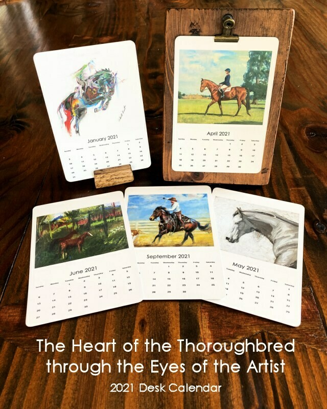 The Heart of the Thoroughbred through the Eyes of the Artist